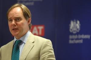 Ambasadorul Marii Britanii, dl. Matin Harris. Foto: Oana Pavelescu