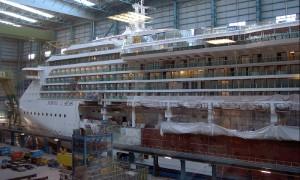 Santierul naval Meyer Werft.