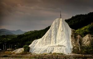 Tuf vulcanic de la Grunj