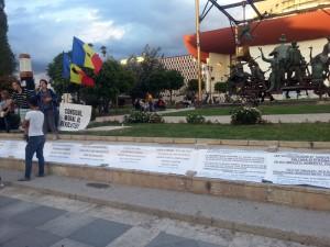 A treia zi de proteste impotriva proiectului Rosia Montana. Foto: Robert Veress