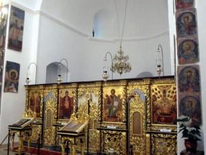 Imagine din interiorul bisericii Palatului Cotroceni Foto: roncea.ro