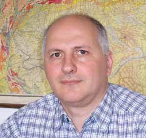 Dr. Stefan Maincea, directorul general al Institutului Geologic al României.