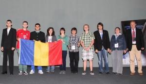 Lotul României la Olimpiada de Astronomie Foto: edu.ro