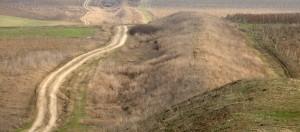 Valul lui Traian, astăzi. Foto; xplorio.ro