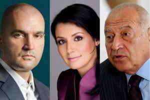 Sorin Alexandrescu, Camelia Voiculescu si Dan Voiculescu