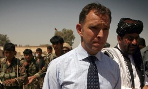 Mark Sedwill în Afganistan Foto: theguardian.com