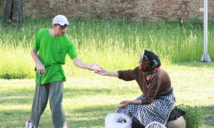 Kindness. Photograph: Dobrin Madalin-Ionut/GuardianWitness