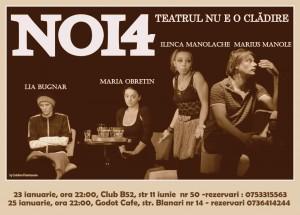 Lia Bugnar, Maria Obretin, Ilinca Manolache si Marius Manole in Noi4
