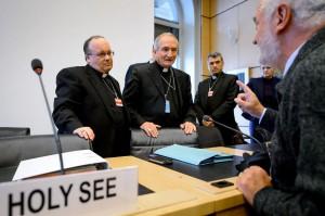 Prelații Vaticanului, la audierile de la Geneva Foto: news.msn.com
