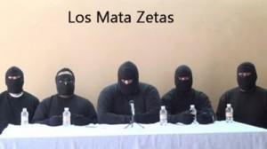 Brigada de luptători civili Mata Zetas Foto: captură video
