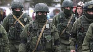 Trupe rusești în Crimeea Foto: secretsofthefed.com