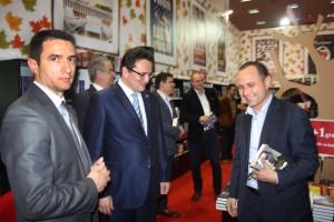 Aurelian Pavelescu la o lansare de carte, cu șeful SRI, George Maior, vineri, 30 mai 2014 Foto: Facebook