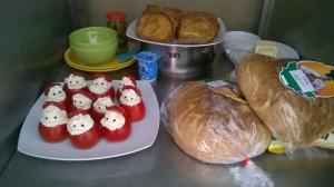 Micul dejun la Hospice Foto: Mălina Dumitrescu