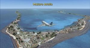 Insulele Marshall ar urma să dispară în urma ridicării nivelului oceanului planetar, ca efect al încălzirii globale. Foto: islandsim.com