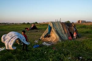 """Fotografie din cadrul documentarului """"Ultimii oameni din Groapa Văcărești"""" realizat de Cristian Munteanu"""