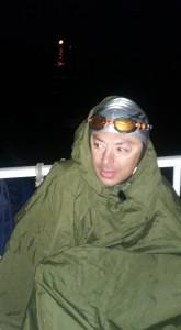 Andrei Roșu, în momentul în care a ajuns la Calais